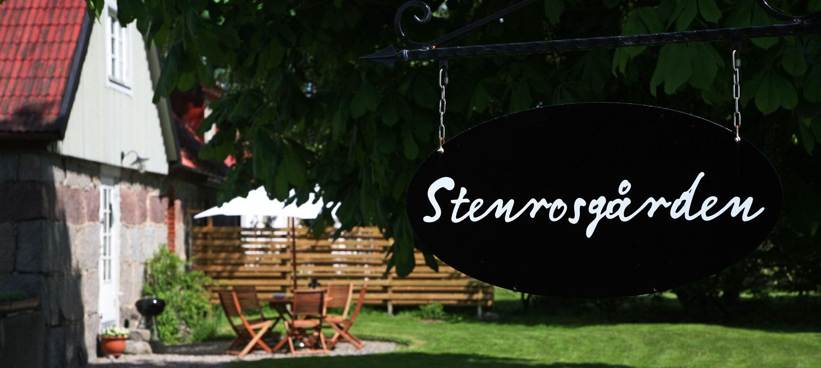Stenrosgården - hyr ut boende (lägenheter) på Österlen nära Kivik och Stenshuvuds nationalpark