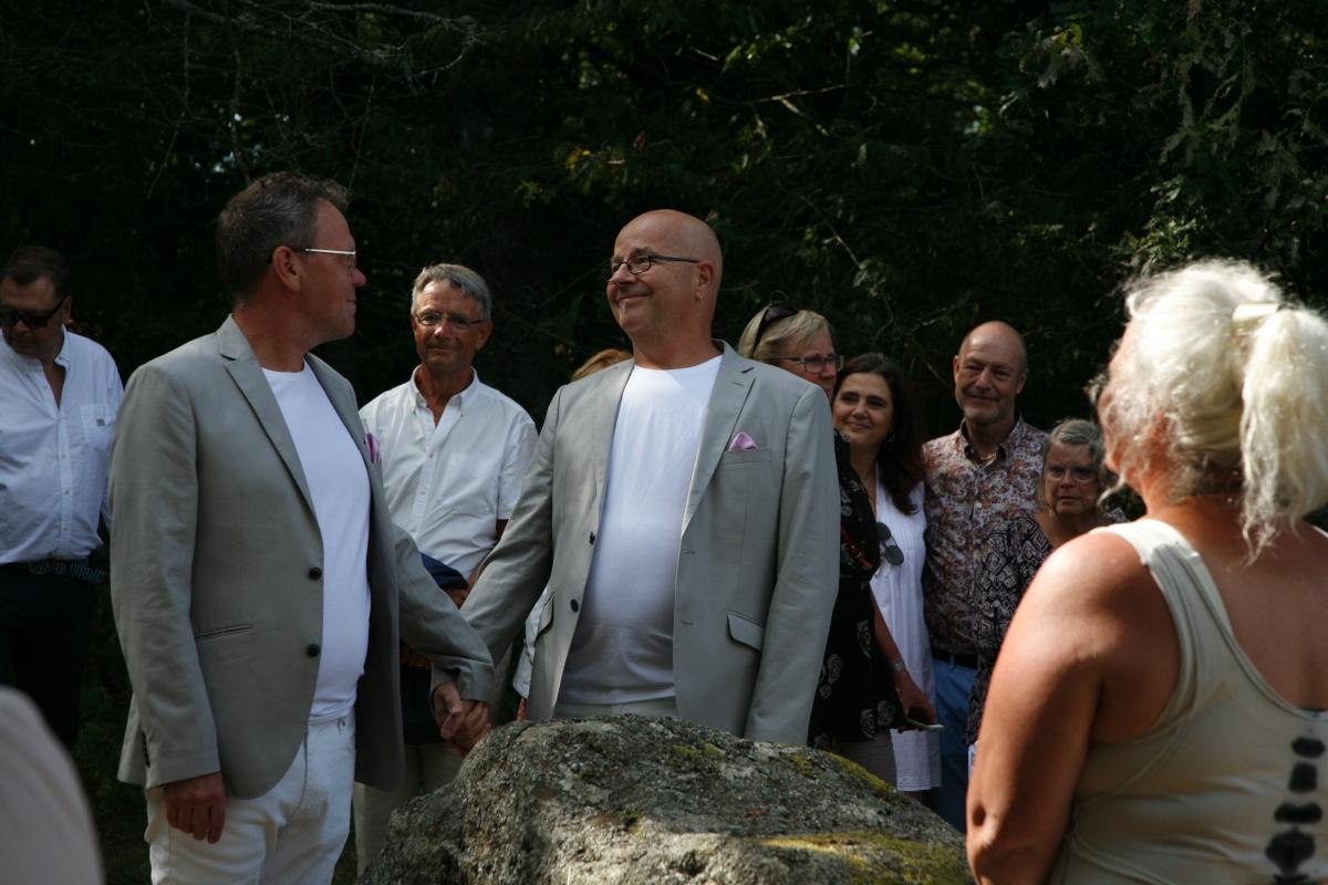 Stenrosgården - Peter & Mikaels bröllop 0340